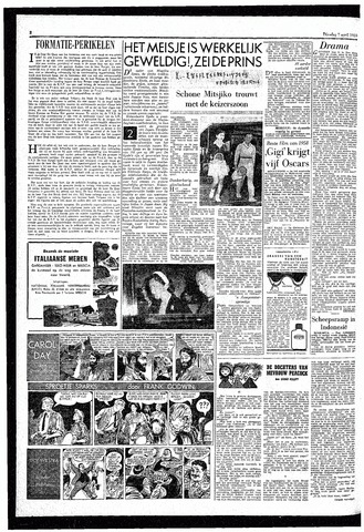 Rotterdamsch Parool / De Schiedammer 1959-04-07