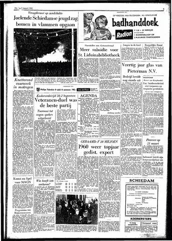 Rotterdamsch Parool / De Schiedammer 1961-01-03