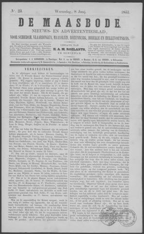 De Maasbode 1853-06-08