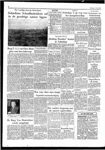 Rotterdamsch Parool / De Schiedammer 1955-06-14