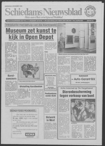 Schiedams Nieuwsblad 1985-12-04