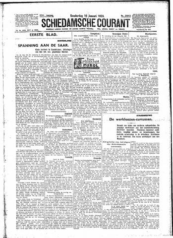 Schiedamsche Courant 1935-01-10