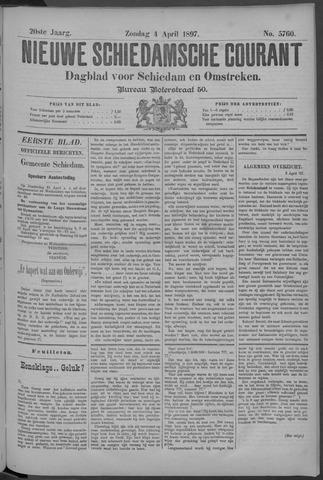 Nieuwe Schiedamsche Courant 1897-04-04