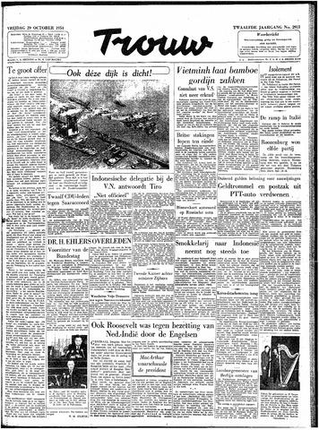 Trouw / De Rotterdammer 1954-10-29