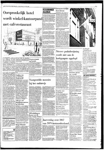 Rotterdamsch Nieuwsblad / Schiedamsche Courant / Rotterdams Dagblad / Waterweg / Algemeen Dagblad 1968-06-19