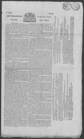 Rotterdamse Courant 1836-03-08