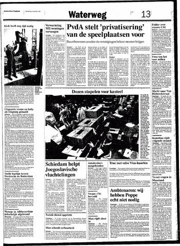 Rotterdamsch Nieuwsblad / Schiedamsche Courant / Rotterdams Dagblad / Waterweg / Algemeen Dagblad 1991-10-10