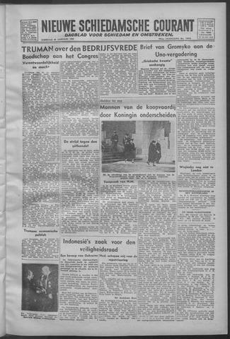 Nieuwe Schiedamsche Courant 1946-01-22