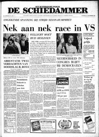 Rotterdamsch Parool / De Schiedammer 1968-11-06