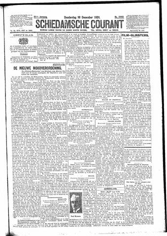 Schiedamsche Courant 1931-12-10