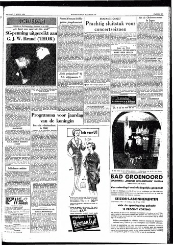 Rotterdamsch Nieuwsblad / Schiedamsche Courant / Rotterdams Dagblad / Waterweg / Algemeen Dagblad 1959-04-17
