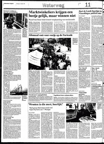 Rotterdamsch Nieuwsblad / Schiedamsche Courant / Rotterdams Dagblad / Waterweg / Algemeen Dagblad 1991-10-07