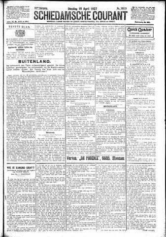 Schiedamsche Courant 1927-04-19