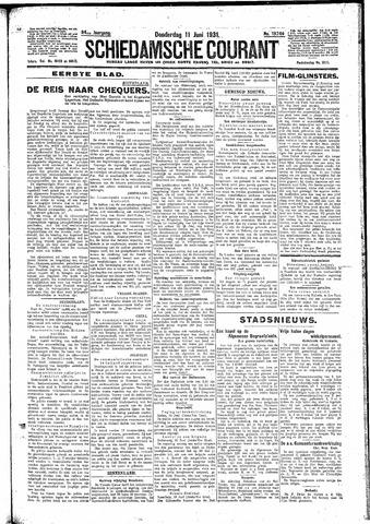 Schiedamsche Courant 1931-06-11