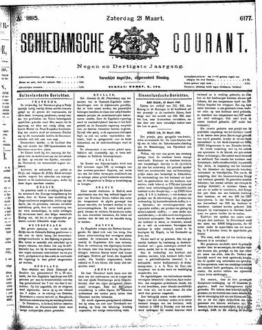Schiedamsche Courant 1885-03-21