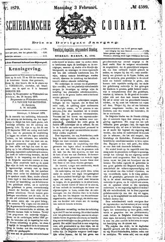 Schiedamsche Courant 1879-02-03