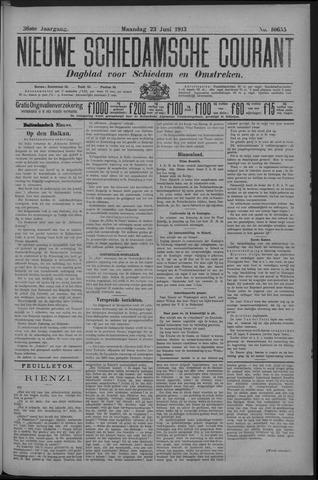 Nieuwe Schiedamsche Courant 1913-06-23