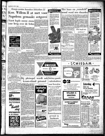 Rotterdamsch Parool / De Schiedammer 1962-08-03