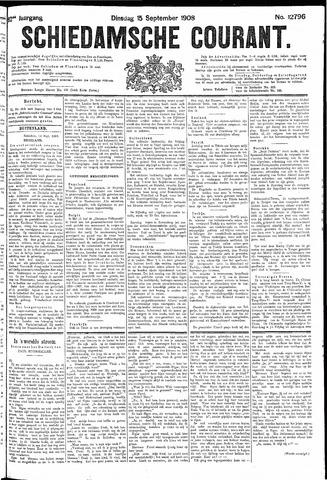 Schiedamsche Courant 1908-09-15