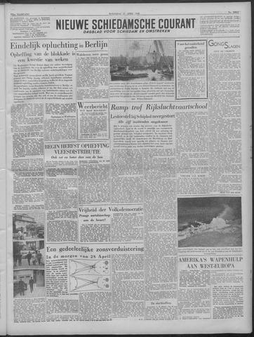 Nieuwe Schiedamsche Courant 1949-04-27