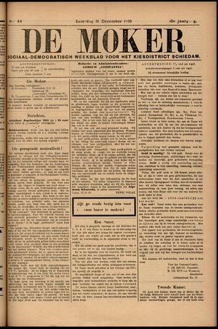 De Moker 1910-12-31