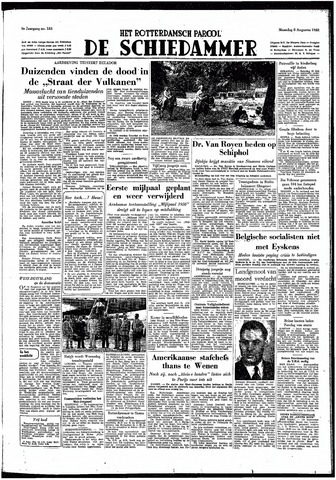 Rotterdamsch Parool / De Schiedammer 1949-08-08