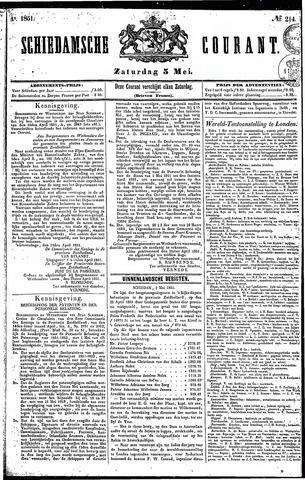 Schiedamsche Courant 1851-05-03