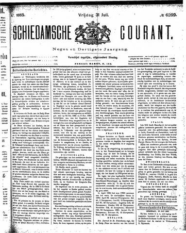 Schiedamsche Courant 1885-07-31