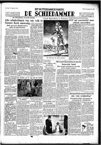 Rotterdamsch Parool / De Schiedammer 1948-08-14