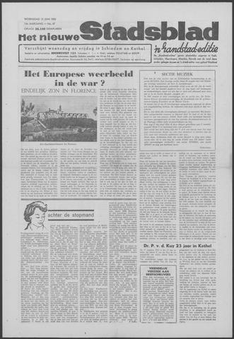 Het Nieuwe Stadsblad 1962-06-13