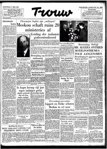 Trouw / De Rotterdammer 1957-05-08