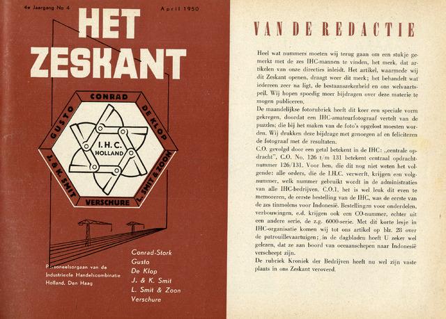 Het Zeskant 1950-04-01
