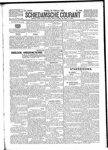 Schiedamsche Courant 1931-02-27