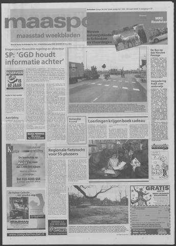 Maaspost / Maasstad / Maasstad Pers 2000-03-29