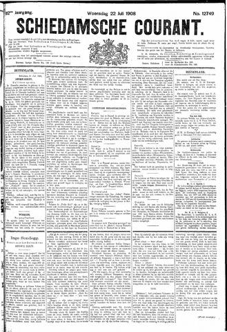 Schiedamsche Courant 1908-07-22