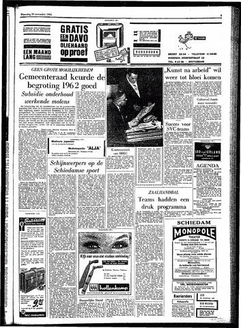 Rotterdamsch Parool / De Schiedammer 1961-11-29