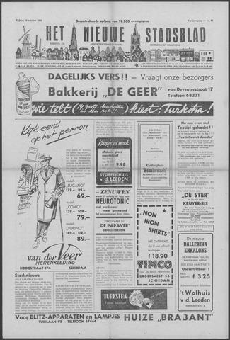 Het Nieuwe Stadsblad 1956-10-19