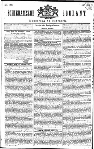 Schiedamsche Courant 1866-02-15