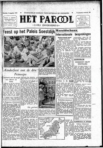 Rotterdamsch Parool / De Schiedammer 1945-08-06