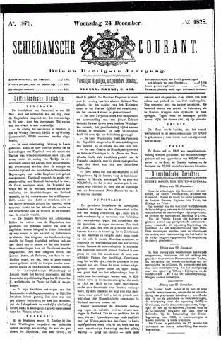 Schiedamsche Courant 1879-12-24
