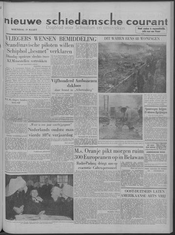 Nieuwe Schiedamsche Courant 1958-03-19
