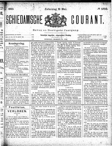 Schiedamsche Courant 1883-05-19