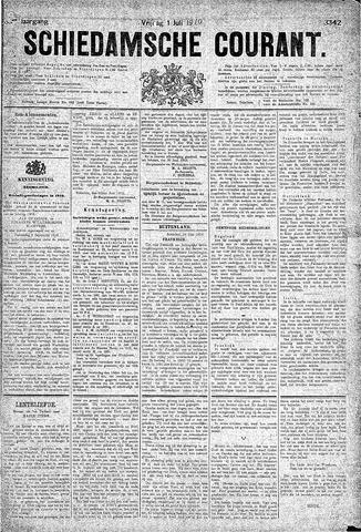 Schiedamsche Courant 1910-07-01