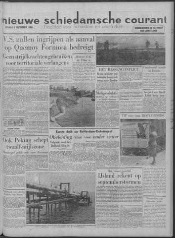 Nieuwe Schiedamsche Courant 1958-09-05