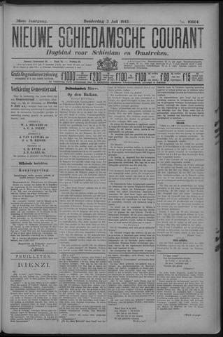 Nieuwe Schiedamsche Courant 1913-07-03