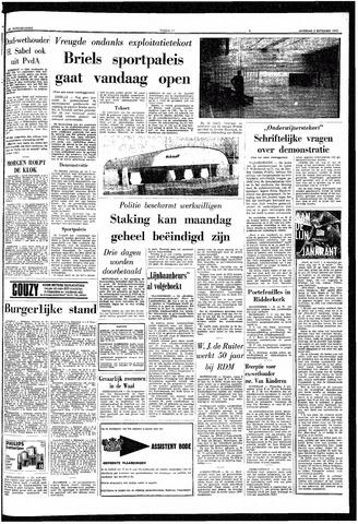 trouw de rotterdammer 5 september 1970 pagina 1 gemeentearchief schiedam krantenkijker