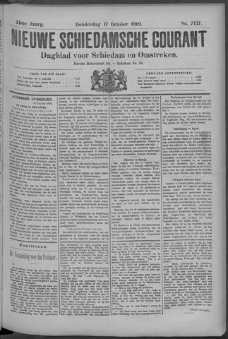 Nieuwe Schiedamsche Courant 1901-10-17