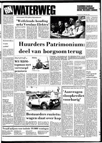 Rotterdamsch Nieuwsblad / Schiedamsche Courant / Rotterdams Dagblad / Waterweg / Algemeen Dagblad 1983-02-23