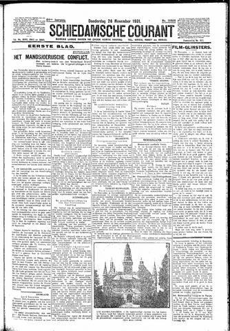 Schiedamsche Courant 1931-11-26