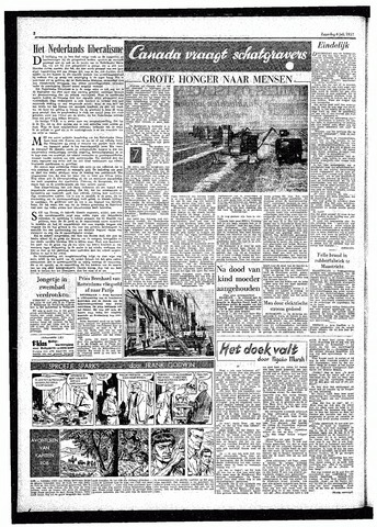 Rotterdamsch Parool / De Schiedammer 1957-07-06